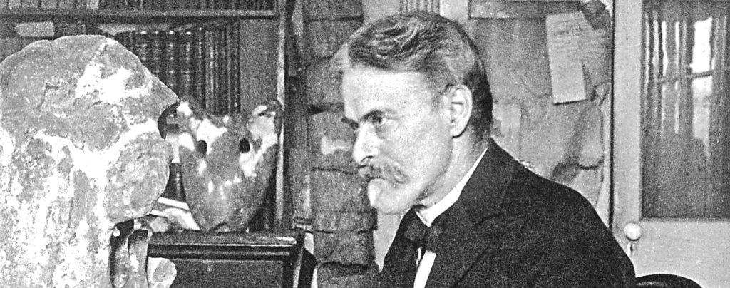 Edward Cope - Paleontólogo envolvido na Guerra dos Ossos