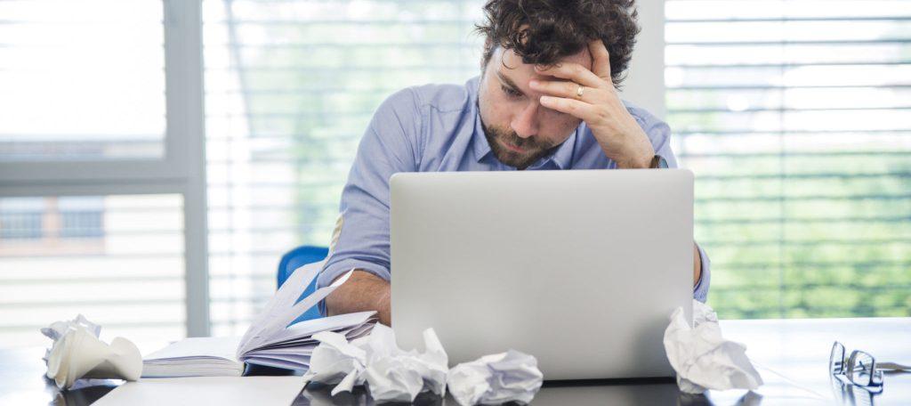 Profissional estressado - Modelo Mental